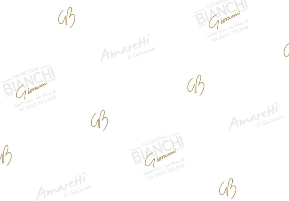 Papier paraffiné, Papier alimentaire paraffiné personnalissé avec logo BIANCHI