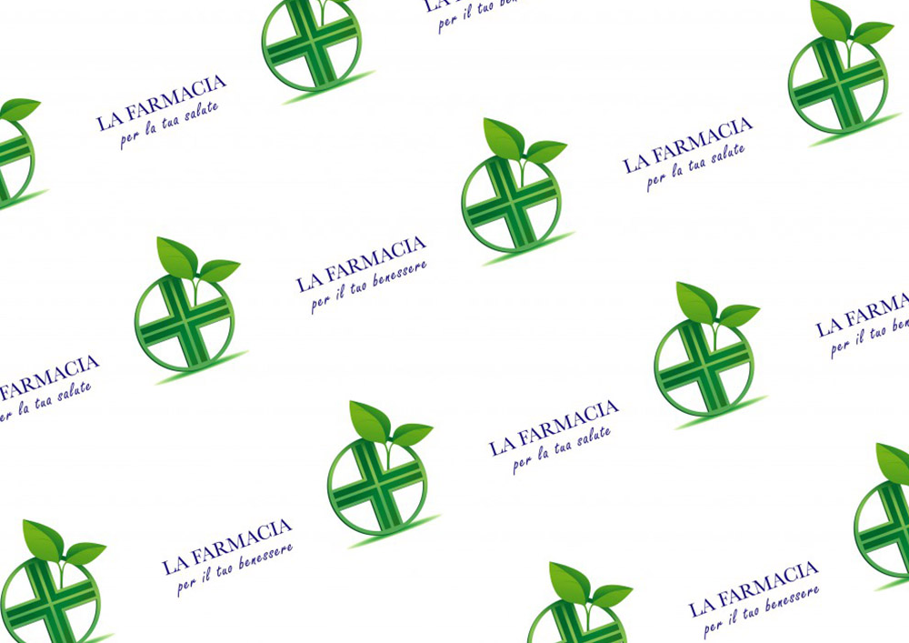 Papier pour pharmacies avec logo Gen Farmacia