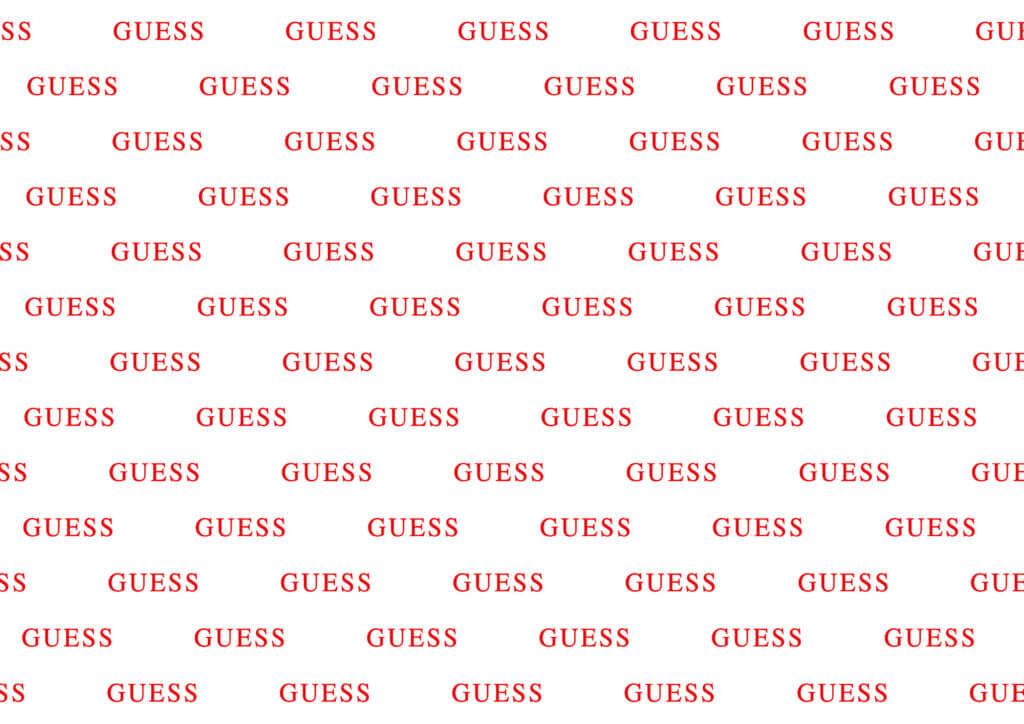Papier emballage chaussures - Papier de soie emballage chaussures avec logo Guess