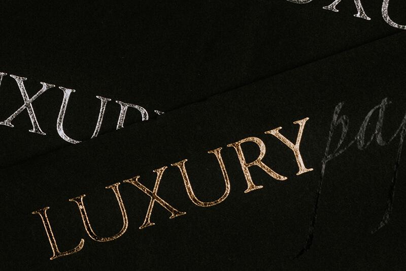Papier de soie emballage personnalisé avec logo imprimé - Luxury 4