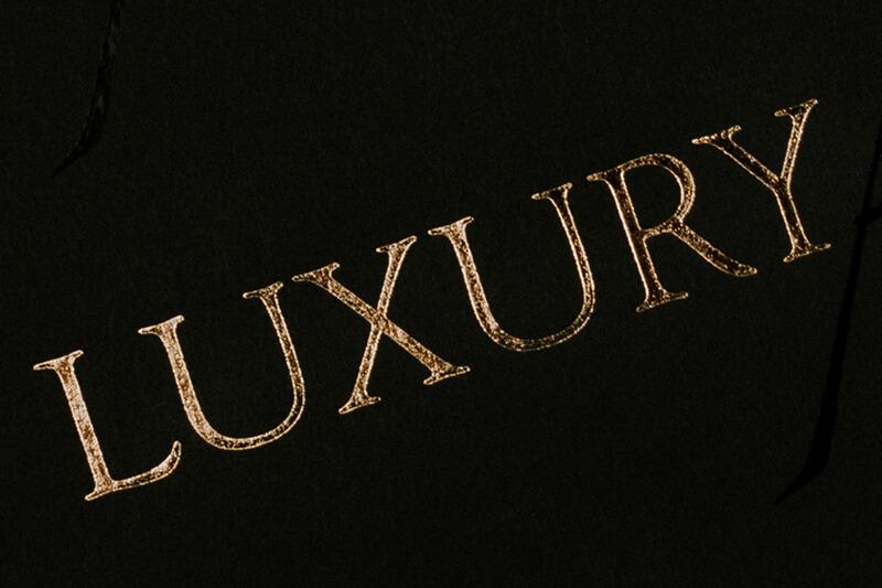 Papier de soie emballage personnalisé avec logo imprimé - Luxury