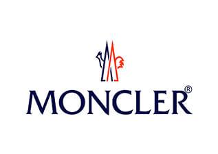 Papier de soie emballage personnalisé avec logo Moncler imprimé