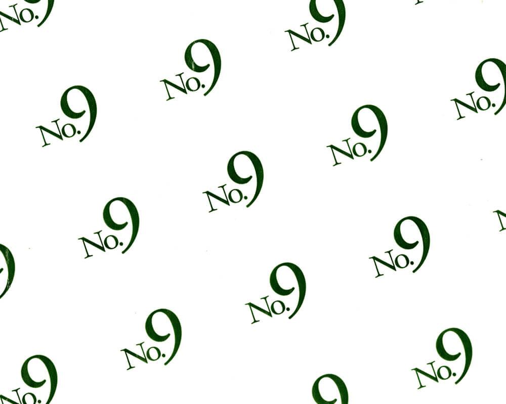 carta pergamino - carta pergamino personalizzata con logo no9