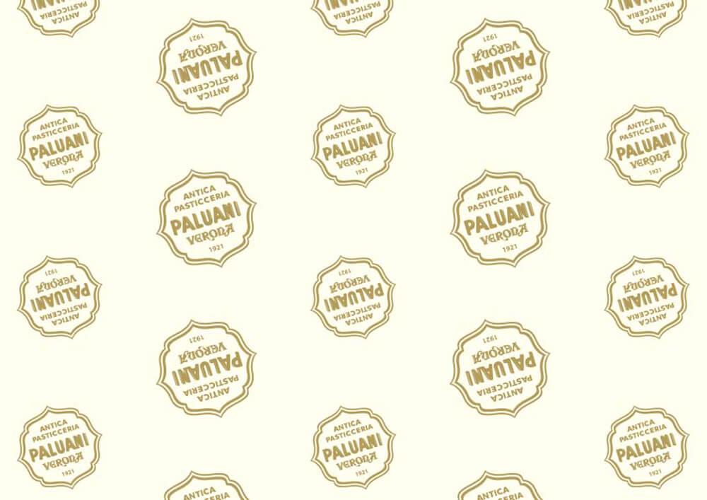Papier patisserie - Papier emballage pour patisserie et confiserie avec logo paluani