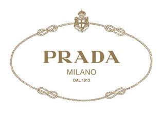 Papier de soie emballage personnalisé avec logo Prada imprimé
