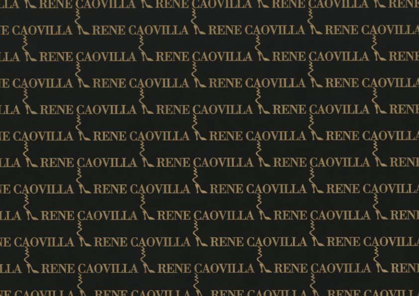 Papier emballage chaussures - Papier de soie emballage chaussures avec logo Rene Caovilla