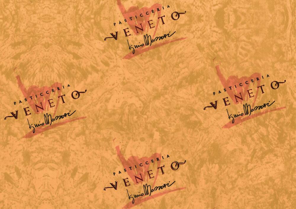 Papier patisserie - Papier emballage pour patisserie et confiserie avec logo Veneto