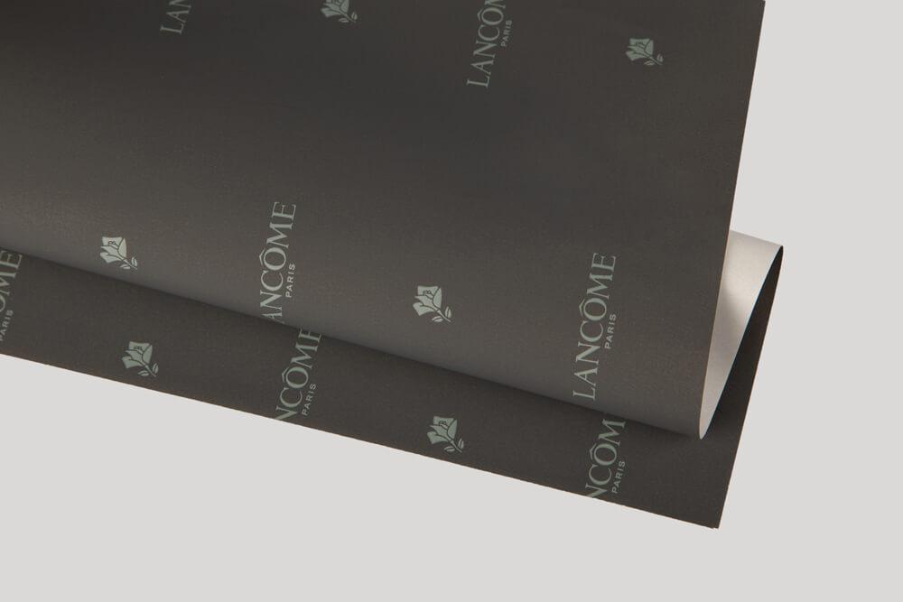 Papier d'emballage personnalisé - Papier couche un face