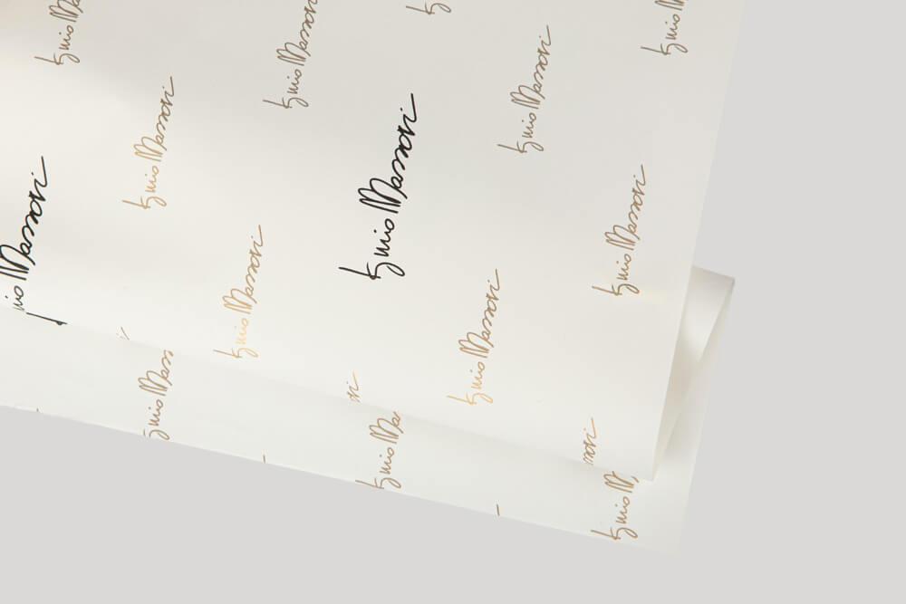 Papier d'emballage personnalisé - Papier Pelleaglio