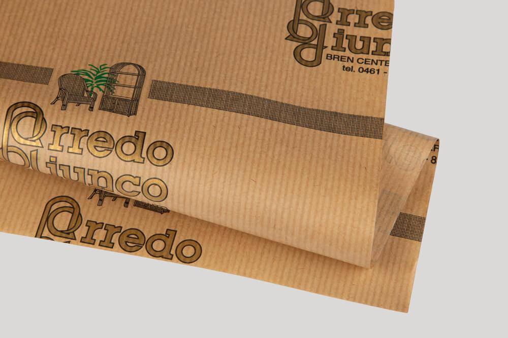Papier d'emballage personnalisé - papier d'étanchéité
