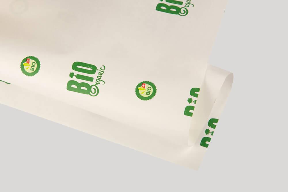Papier d'emballage personnalisé - Papier kraft