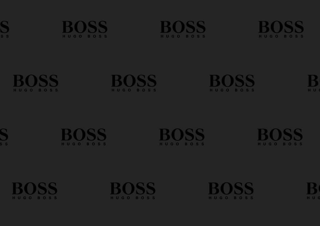 Papier emballage chaussures - Papier de soie emballage chaussures avec logo Ugo Boss