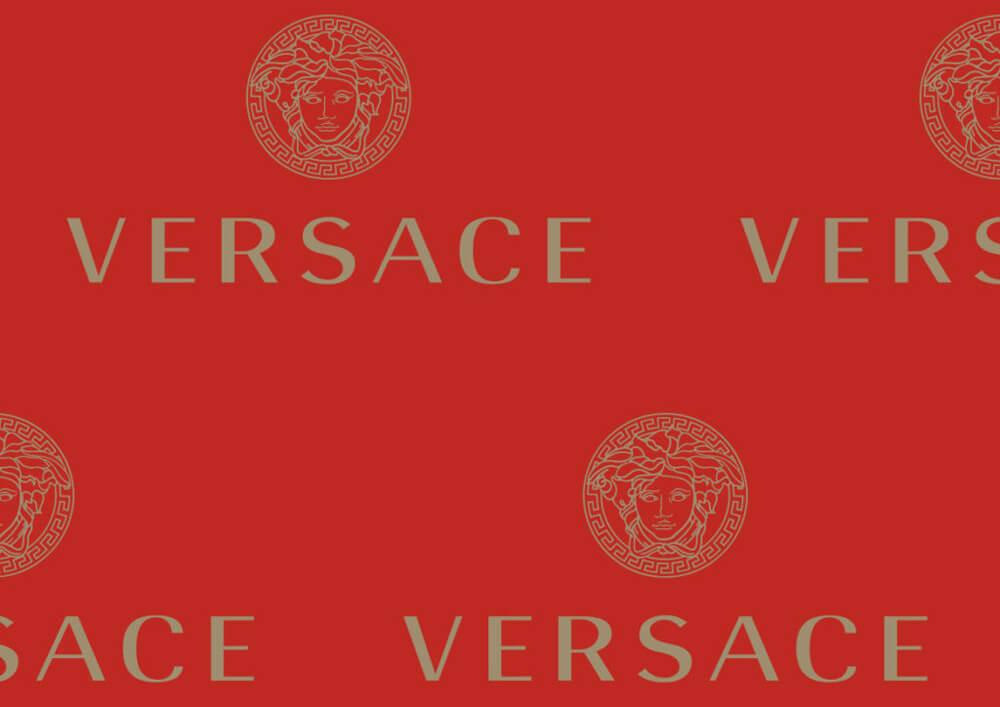 Papier emballage vetement - Papier de soie emballage vetement avec logo VERSACE