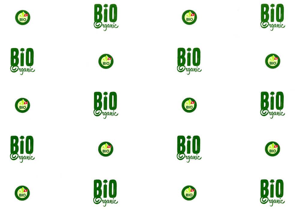 Papier kraft - Sac en papier kraft personnalisée avec logo BIOORGANIC