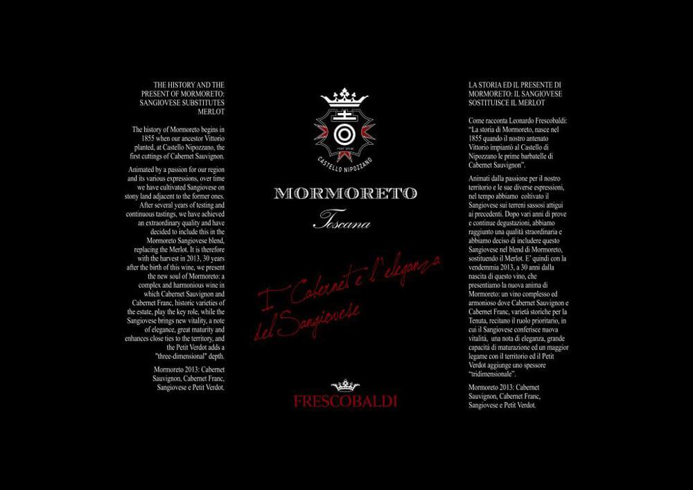 Papier de soie emballage bouteille vin champagne avec logo Francesco Baldi