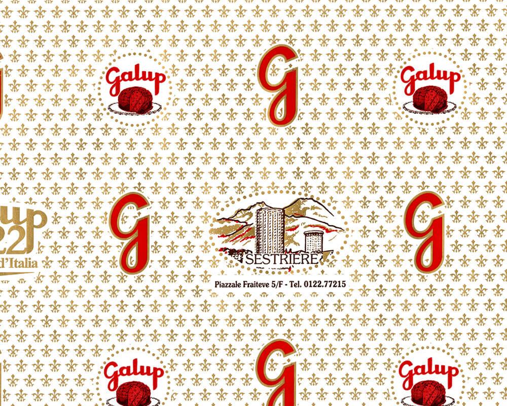 Papier PELURE - Papier PELURE avec logo personnalisé GALUP