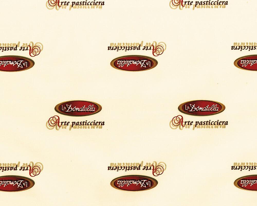 Papier PELURE - Papier PELURE avec logo personnalisé LADONATELLA