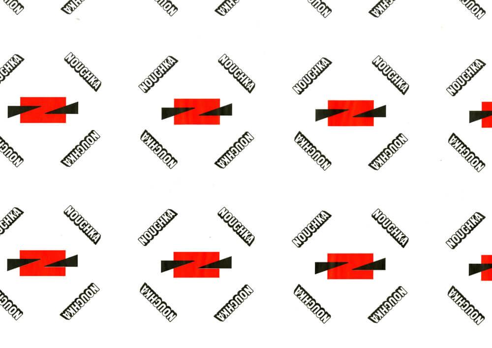 Papier de soie imprimé - Papier de soie avec logo personnalisé NOUCHKA