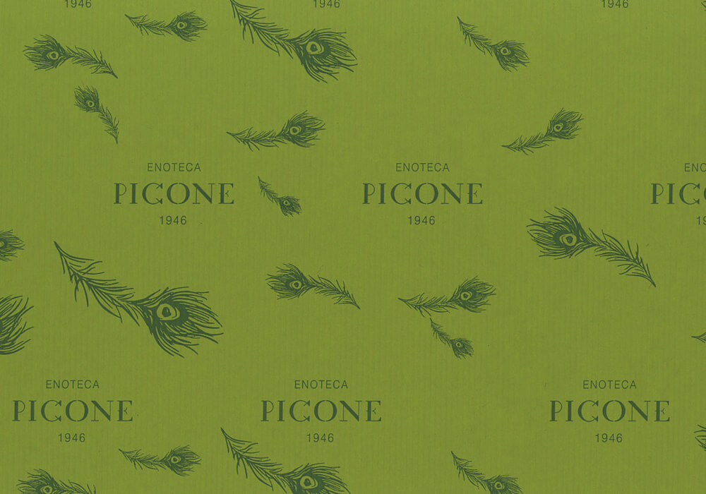 Papier d'étanchéité personnalisée sur mesure pour emballage avec logo PICONE