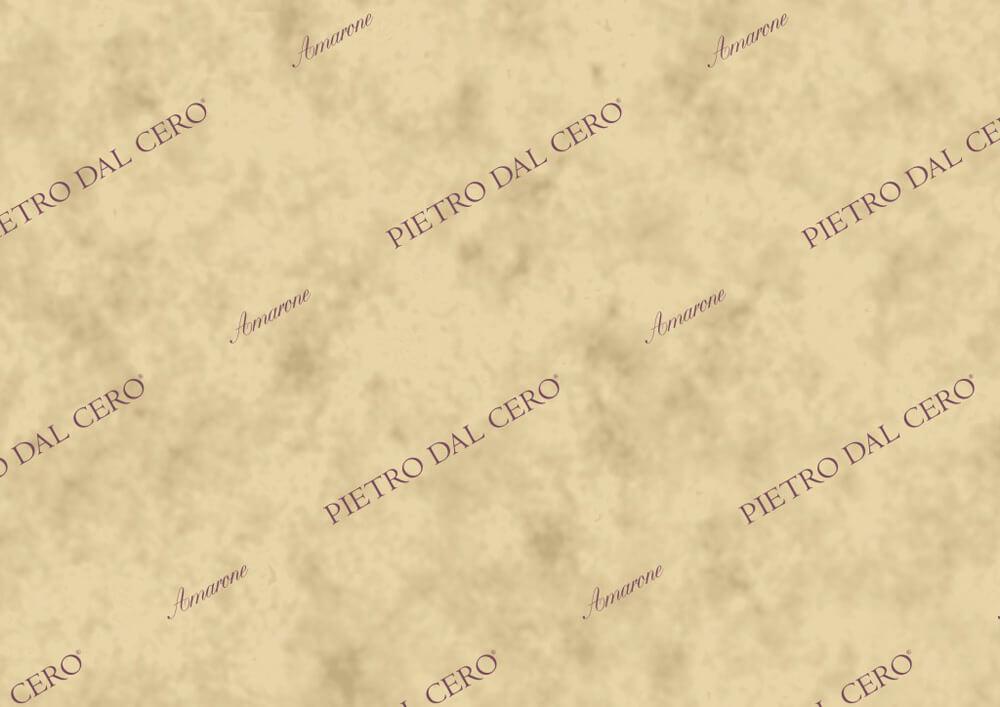 Papier de soie emballage bouteille vin champagne avec logo Pietro dal Cero