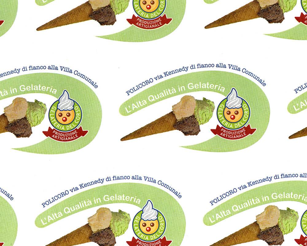Papier PELURE - Papier PELURE avec logo personnalisé POLICORO