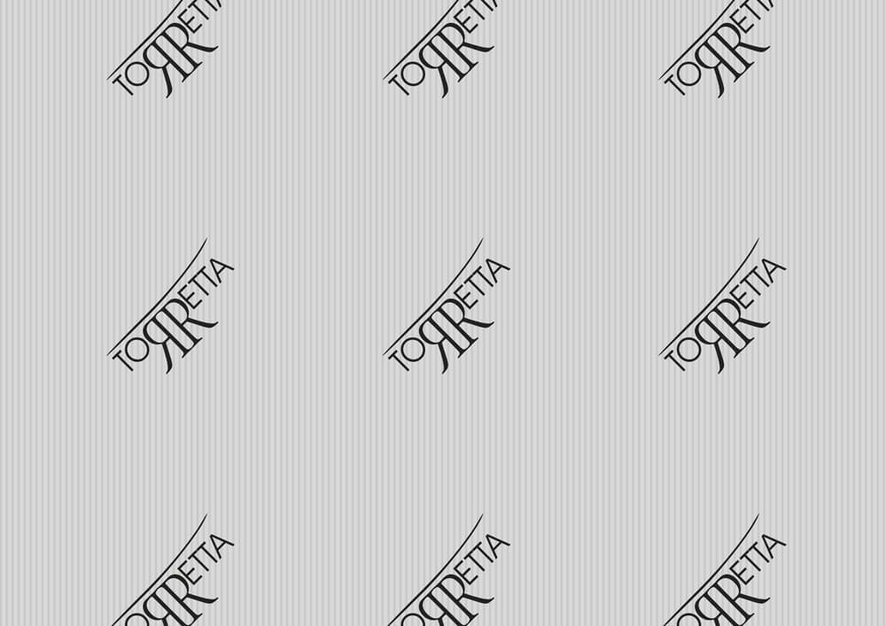 Papier métallisé - Papier métallisé personnalisé avec logo TORRETTA